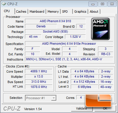 ASRock 890GX Extreme3 Overclocked CPUz