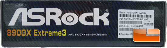 ASRock 890GX Extreme3 Retail Packaging