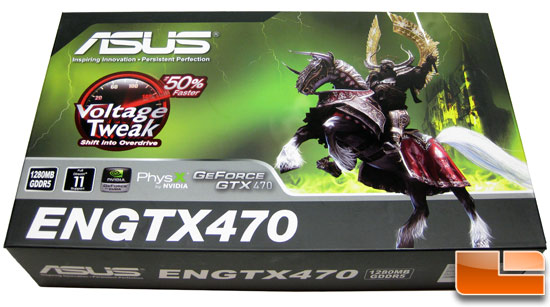 ASUS GeForce ENGTX470 Video Card Retail Box Front