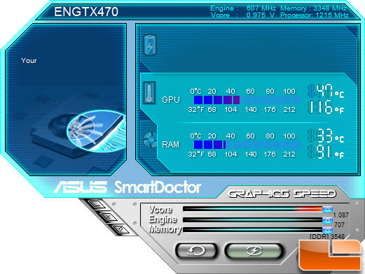 ASUS ENGTX470 Smart Doctor Utility