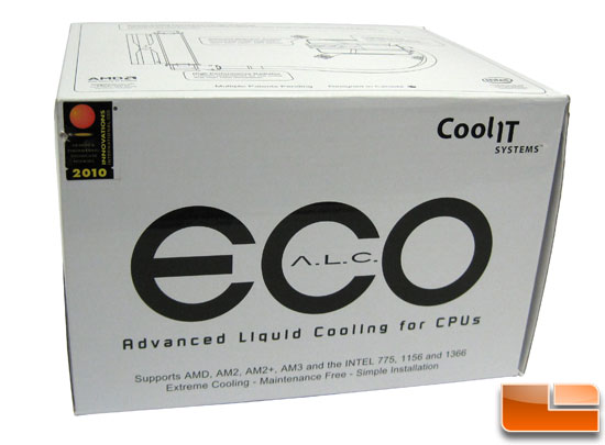 CoolIt ECO A.L.C. CPU Cooler box