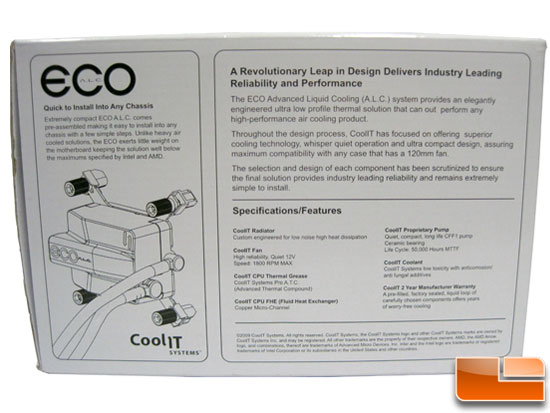 CoolIt ECO A.L.C. CPU Cooler box art
