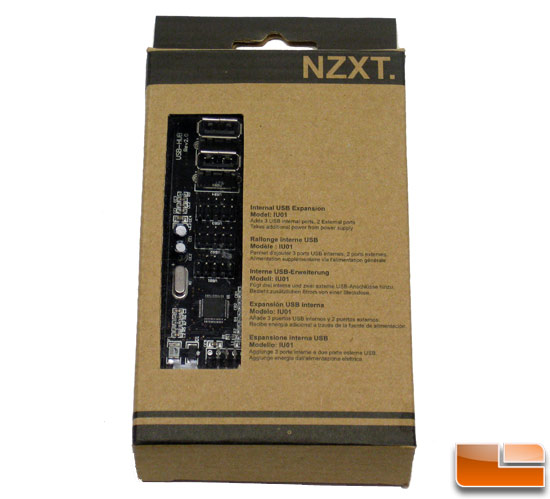 NZXT IU01 USB Expansion Retail Box