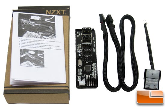NZXT IU01 USB Expansion Accessories