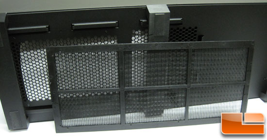 Corsair Obsidian 700D lower vent screen