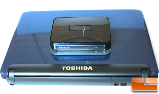 Intel Wireless Display with Toshiba E205