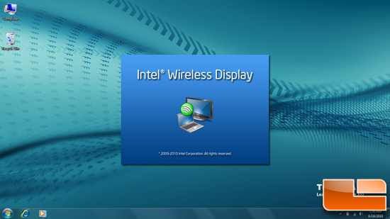 Intel WiDi Splash