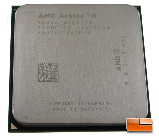 AMD Athlon II X4 640 Quad Core Processor