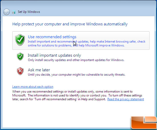 Windows 7 Auto Updates
