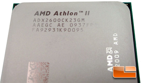 AMD Athlon II X2 260 Dual Core Processor Performance Review
