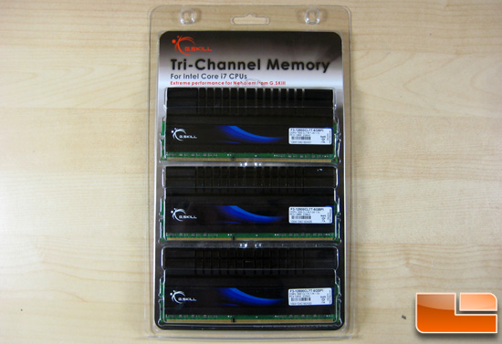G.Skill DDR3-1600C7 PI Series Packaging