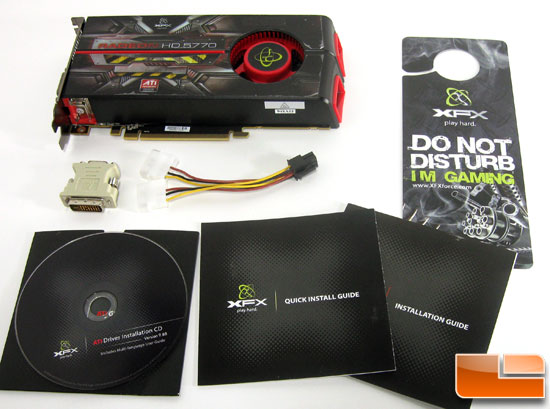 XFX Radeon HD 5770 Retail Bundle