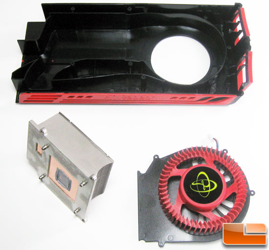 XFX Radeon HD 5770 Fan Assembly