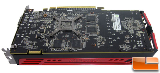 Bottom Side of XFX Radeon HD 5770 PCB