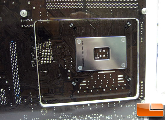 Microcool Banchetto 101 CPU cut out
