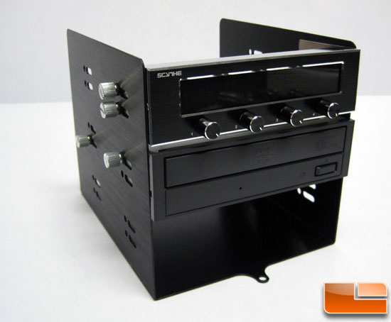 Microcool Banchetto 101 optical drive bay