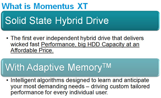 Seagate Momentus XT 500GB Solid State Hybrid Drive Review