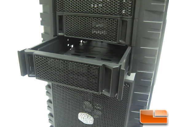 Cooler Master HAF X hot swap bays