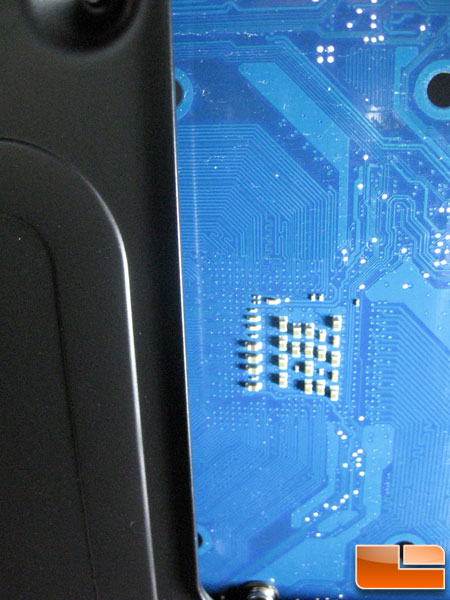 Thermaltake Armor A90 AM3 Backplate Issue Close Up