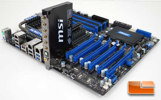 MSI Big Bang XPower X58 Motherboard