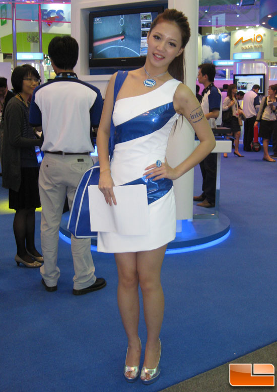 Computex 2010 Booth Babe
