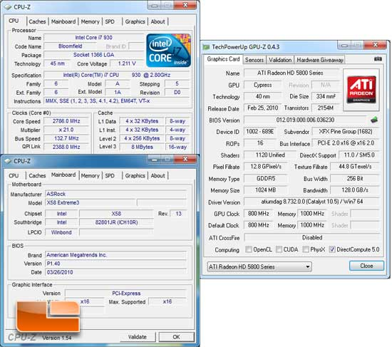 XFX Radeon HD 5830 System Settings