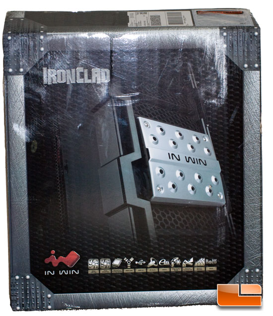 Front of the In-Win Ironclad Box