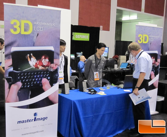 Glasses-Free 3D Screen for Smart Phones At NVIDIA GTC 2010