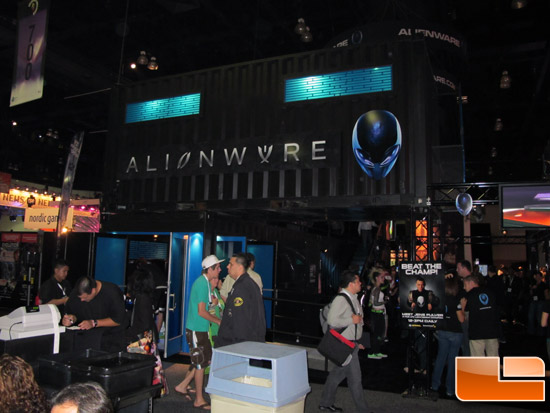 E3 Alienware Booth