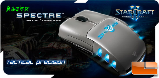 Razer Spectre Controller for Starcraft