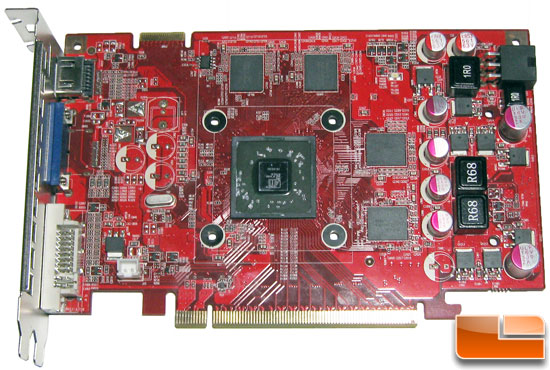 The AXLE Radeon HD 5670 1GB PCB