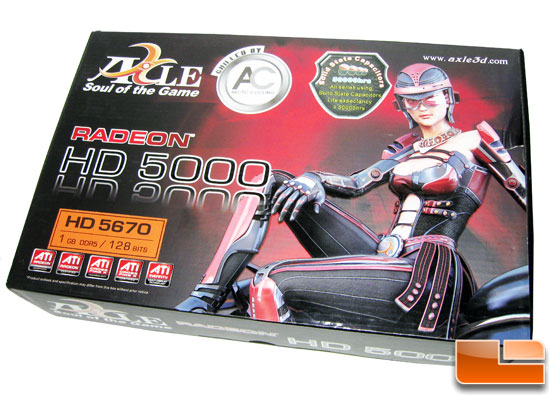 AXLE Radeon HD 5670 1GB Retail Box
