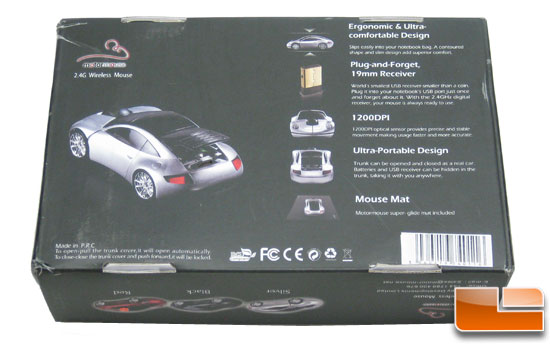 Motormouse 2.4Ghz Wireless Mouse Box