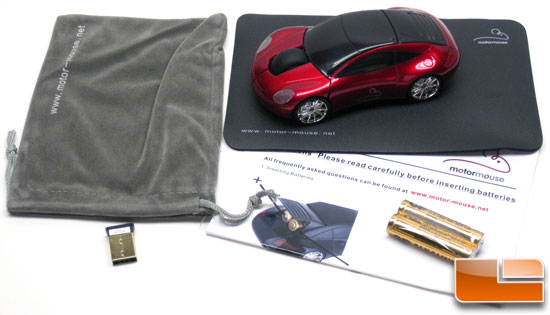 Motormouse 2.4Ghz Wireless Mouse Bundle