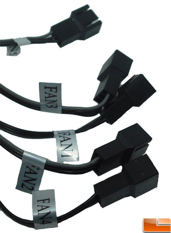 NZXT Sentry LXE Fan Connectors
