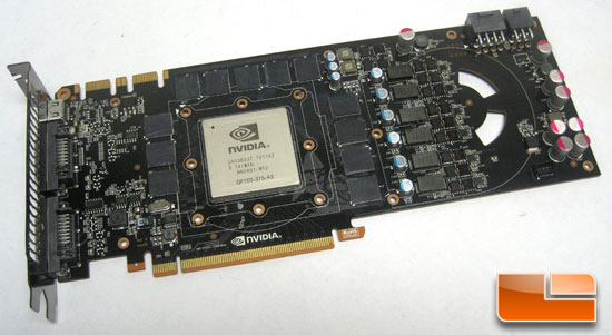 NVIDIA GeForce GTX 480 card cleaned