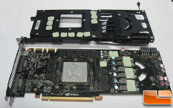 NVIDIA GeForce GTX 480 Cleaning the card