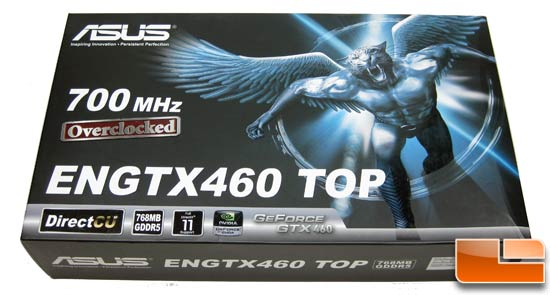 ASUS GeForce ENGTX460 Top Video Card Retail Box Front