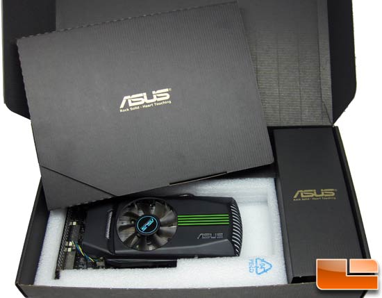 ASUS GeForce ENGTX460 DirectCU TOP/2DI/768MD5 Video Card Retail Box Inside