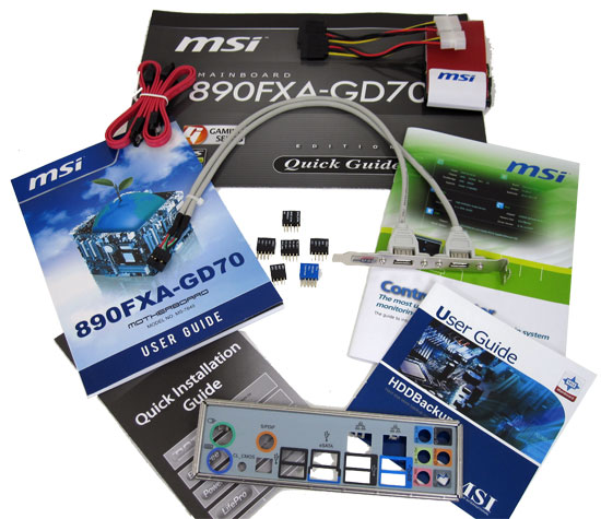 MSI 890FXA-GD70 Retail Packaging