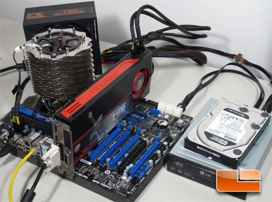 MSI 890FXA-GD70 Test System