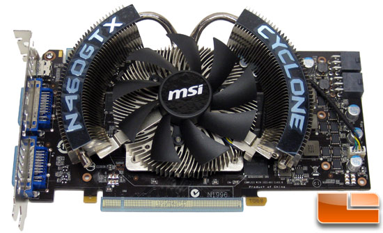 MSI N460GTX Cyclone 1GB GDDR5 OC Video Card