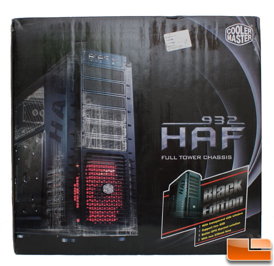 Cooler Master HAF 932 Black Edition Retail Box Art