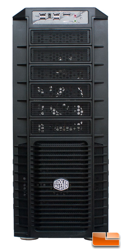 Front of Cooler Master HAF 932 Black Edition
