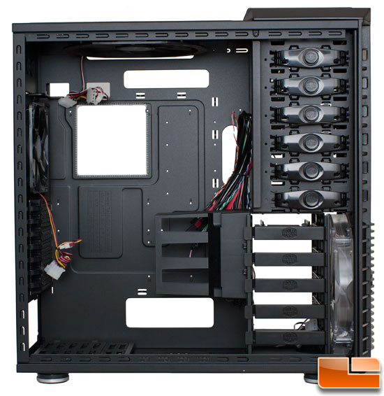 Interior View of the Cooler Master HAF 932 Black Edition