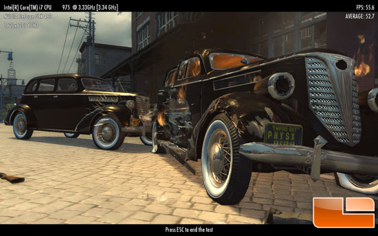 2k Games Mafia II Benchmark Demo
