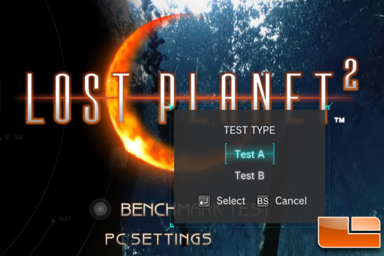 Lost Planet 2 Benchmark