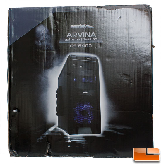 Front of Retail Packaging of the Sentey Arvina