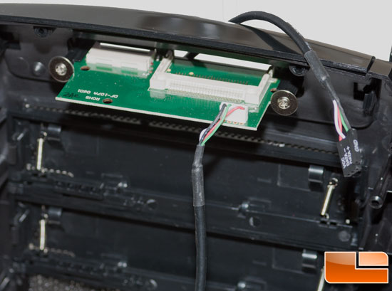 PCB board of the Card Reader in the Sentey Arvina