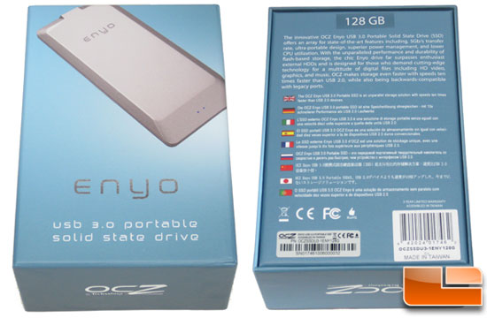 OCZ Enyo 128GB USB 3.0 Portable SSD Retail Box